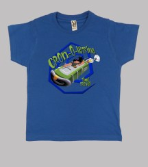 Camiseta niñ@ Cron-O-Letrina del día del Tentáculo