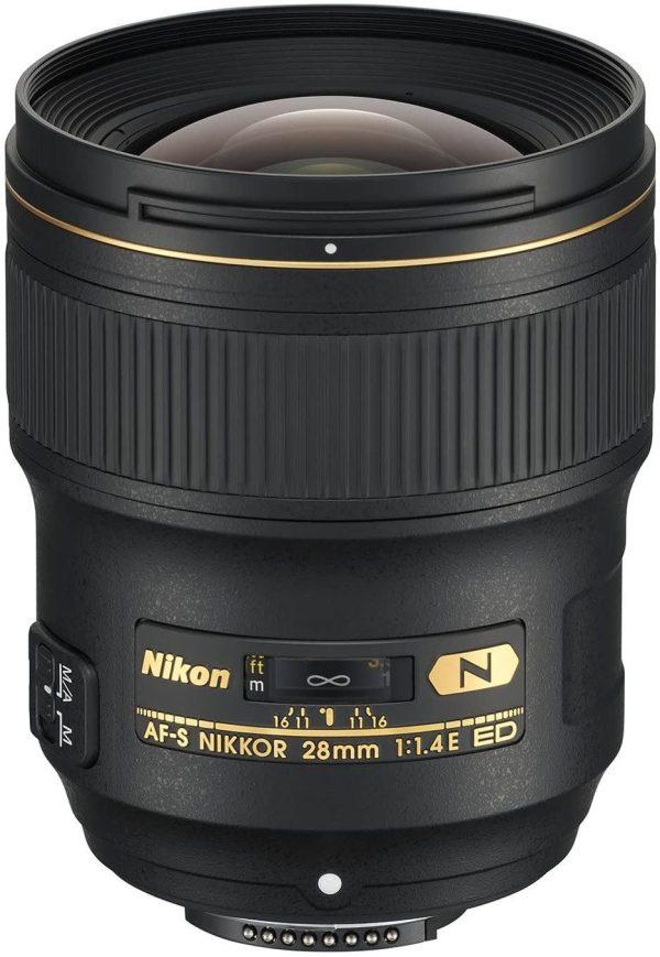 Nikon Nikon AF-S NIKKOR 28mm f/1.4E ED Lens