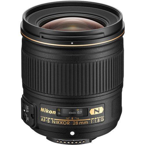 Nikon AF-S NIKKOR 28mm f/1.8G Wide Angle Prime Lens