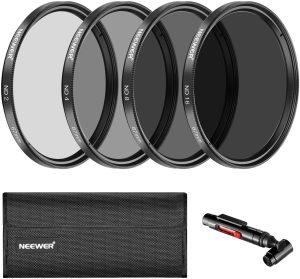 Neewer 67MM (ND2 ND4 ND8 ND16) Filter Set