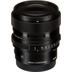 Sigma 65mm F2 DG DN   Contemporary For Sony E