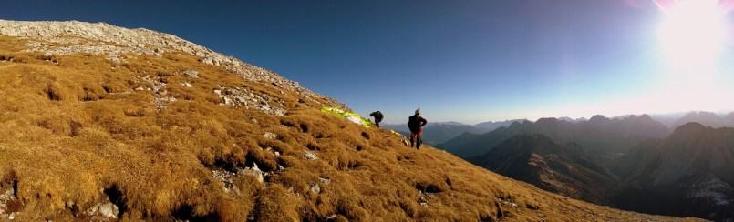 120 Il decollo erboso del Monte Peralba.40.40
