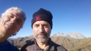 Monte - Valsecca - Selfie in cima
