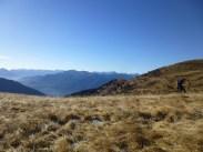 Valsecca - Scorcio sui pendii finali verso Ovest