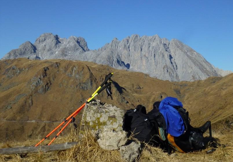Monte Valsecca - In cima