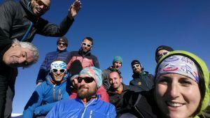 Selfie in cima al Peralba