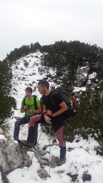 Pisimoni - in prossimità della cima