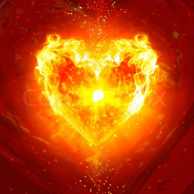 2076883-burning-heart-with-fireworks-on-a-dark-background
