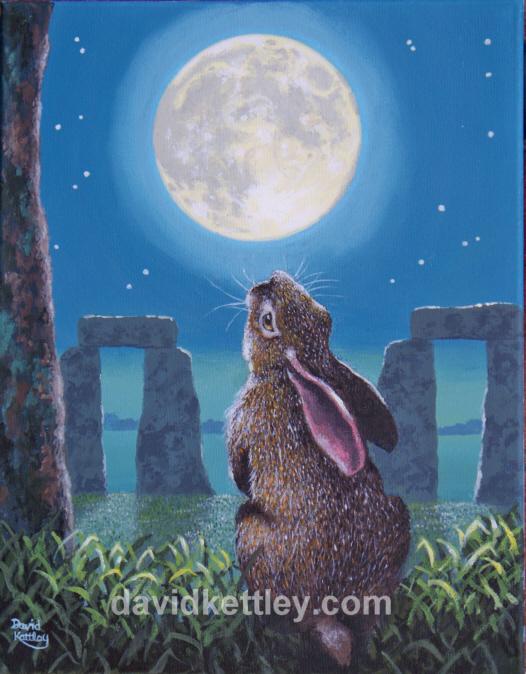 a hare stonehenge