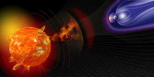 Vento-Solare-Campo-Magnetico-Terrestre