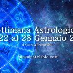 SETTIMANA ASTROLOGICA DAL 22 AL 28 GENNAIO 2018 – SOLE IN ACQUARIO E MARTE IN SAGITTARIO di G.Francolini