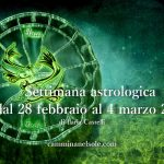 SETTIMANA ASTROLOGICA DAL 28 FEBBRAIO al 4 MARZO 2018 – LUNA PIENA IN VERGINE di Ilaria Castelli