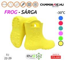 Camminare – Frog EVA gyerekcsizma SÁRGA (-30°C)