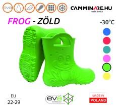 Camminare – Frog EVA gyerekcsizma ZÖLD (-30°C)