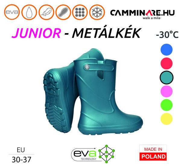 Camminare – Junior EVA gyerekcsizma METÁLKÉK (-30°C)