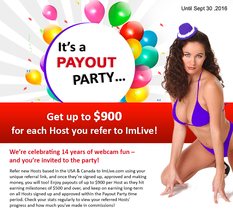 Promote The ImLive Webcam Model Referral Program