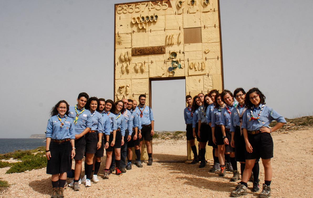 La Porta d'Europa a Lampedusa