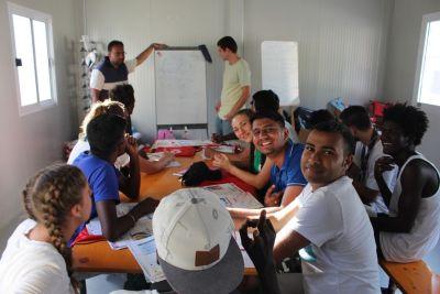 Insieme coi migranti si studia italiano