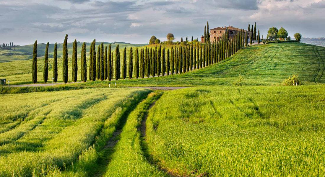 Val d'Orcia – Toscana|Cammini d'Italia