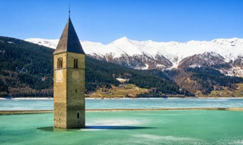 Curon Venosta in Trentino Alto Adige