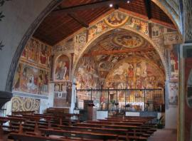 chiesa di santa maria assunta cammino di carlo magno