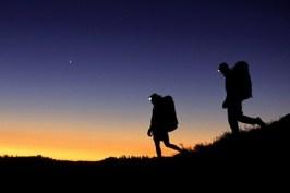 Trekking notturno