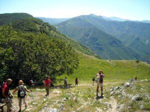 cammino dei parchi naturali