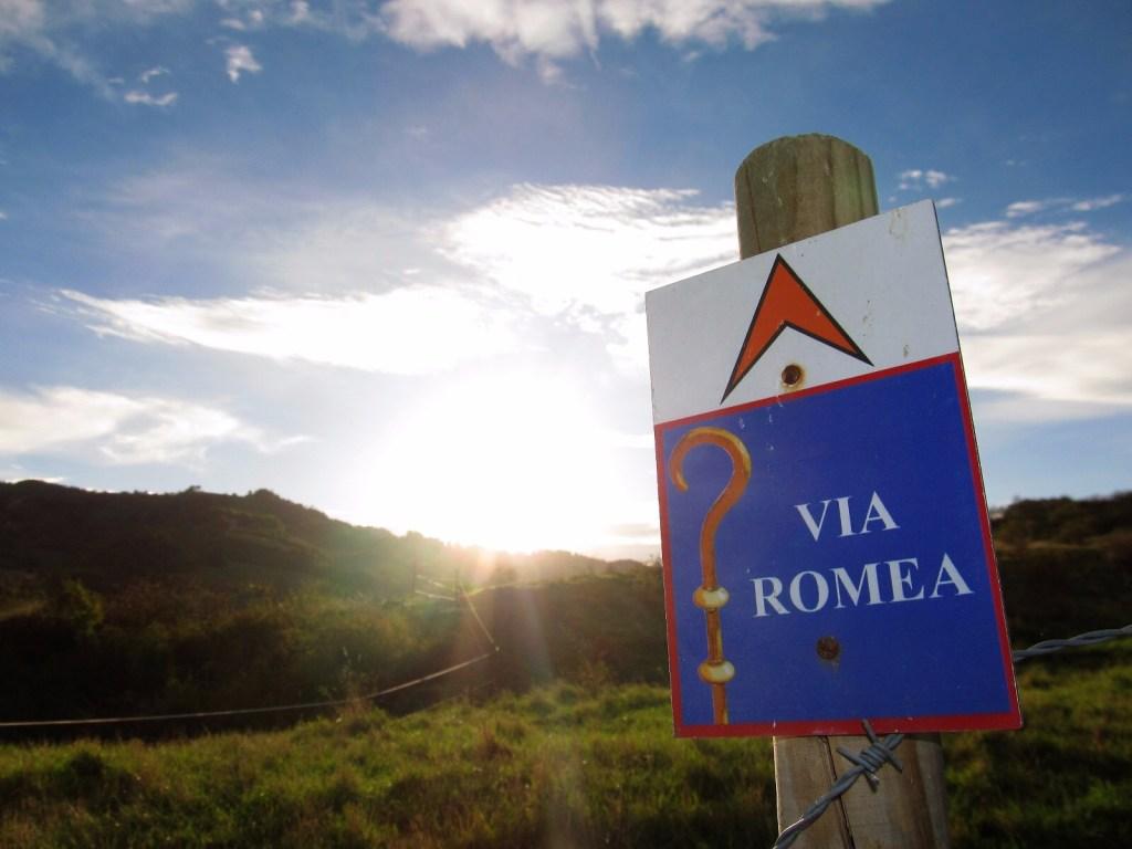 Via Romea Germanica segnaletica