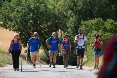 Cammino Terre Mutate Tappa 1 Fabriano Matelica camminatori lunga marcia