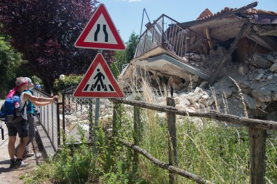 Cammino Terre Mutate Tappa 10 Accomoli - Amatrice (36)