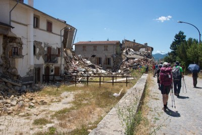 Cammino Terre Mutate Tappa 10 Accomoli - Amatrice (46)