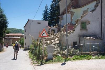 Cammino Terre Mutate Tappa 11 Amatrice - Campotosto (36)