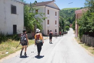 Cammino Terre Mutate Tappa 11 Amatrice - Campotosto (38)
