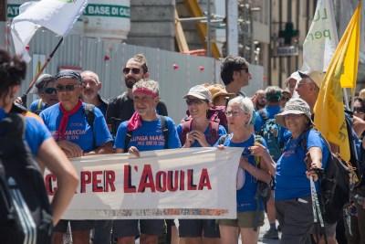 Cammino Terre Mutate Tappa 14 Collebrincioni - L'Aquila (109)