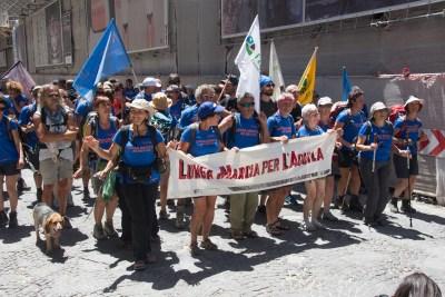 Cammino Terre Mutate Tappa 14 Collebrincioni - L'Aquila (123)