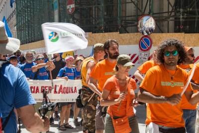 Cammino Terre Mutate Tappa 14 Collebrincioni - L'Aquila (135)