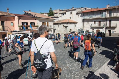 Cammino Terre Mutate Tappa 14 Collebrincioni - L'Aquila (20)