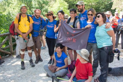 Cammino Terre Mutate Tappa 14 Collebrincioni - L'Aquila (37)