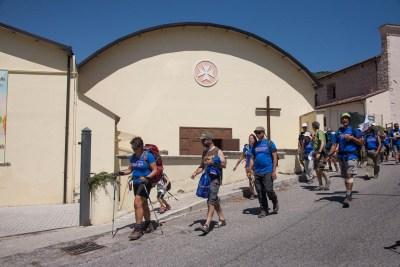 Cammino Terre Mutate Tappa 14 Collebrincioni - L'Aquila (50)