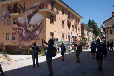 Cammino Terre Mutate Tappa 14 Collebrincioni - L'Aquila (79)
