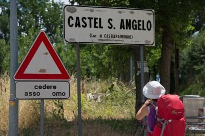 Cammino Terre Mutate Tappa 2 Matelica Pioraco Camerino frazione catel raimondo