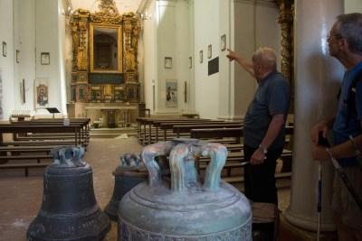 Cammino Terre Mutate Tappa 2 Matelica Pioraco Camerino la chiesa di pioraco