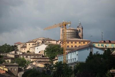 Cammino Terre Mutate Tappa 3 Camerino Fiastra il centro storico di camerino