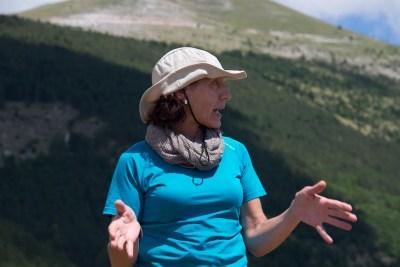 Cammino Terre Mutate Tappa 4 Fiastra Ussita Rita Salvucci di Norcia