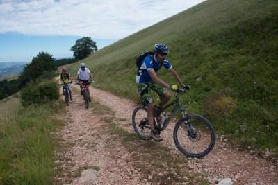 Cammino Terre Mutate Tappa 4 Fiastra Ussita in bici nel parco dei sibillini