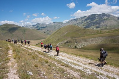 Cammino Terre Mutate Tappa 7 Norcia - Castelluccio di norcia (15)