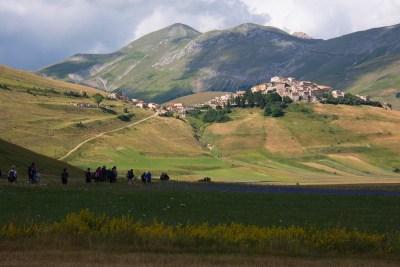 Cammino Terre Mutate Tappa 7 Norcia - Castelluccio di norcia (26)