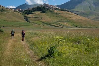 Cammino Terre Mutate Tappa 8 Castelluccio di Norcia - Arquata del Tronto (46)