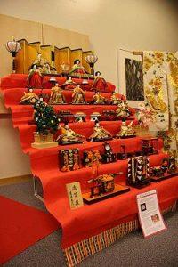 Bảy tầng bộ búp bê bộ Hina