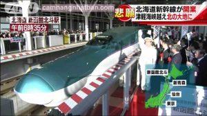 Khai trương tầu Shinkansen nối Hokkaido - Tokyo